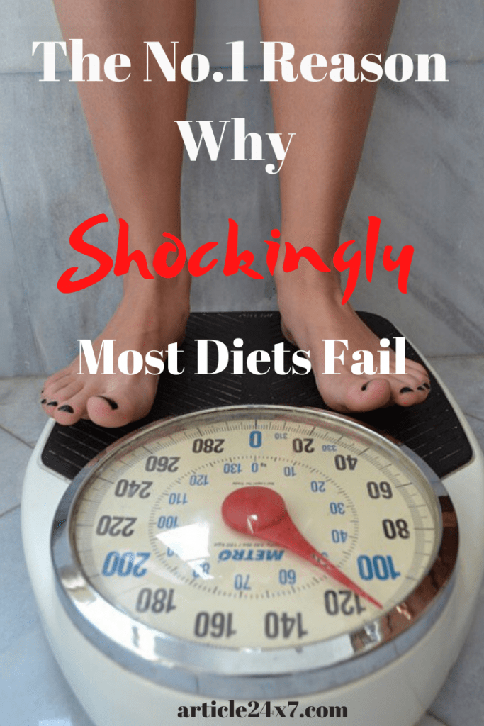 No 1 Reason Why Shockingly Most Diets Fail