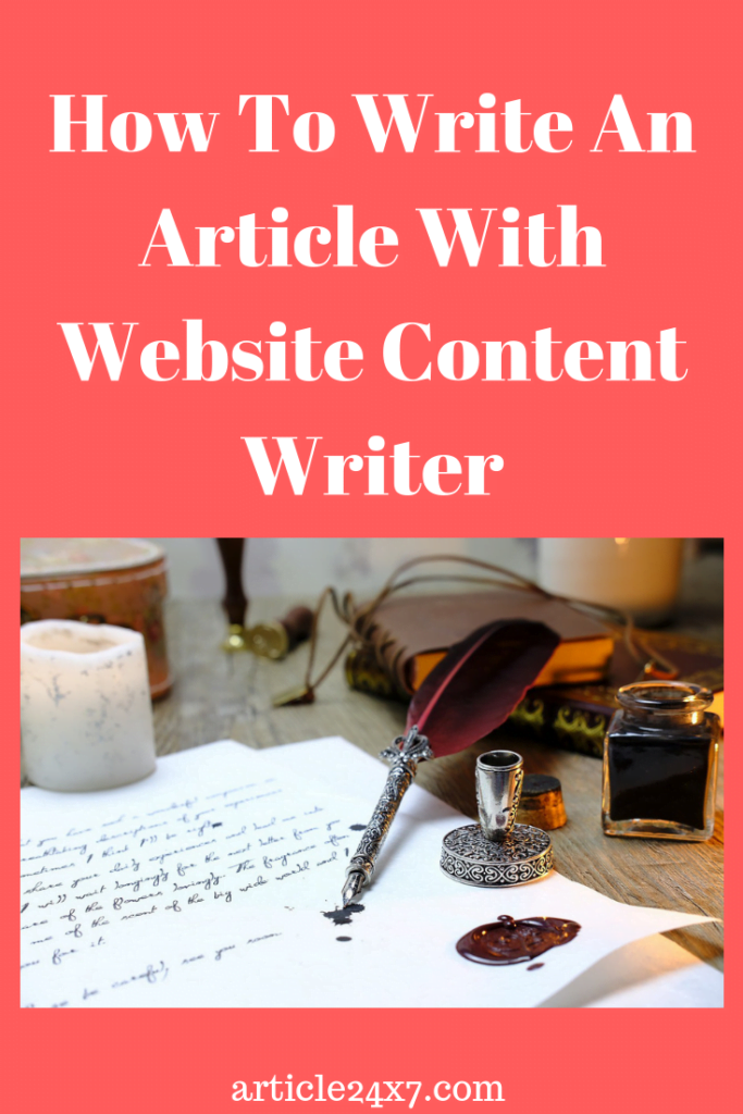 Article writing services,
