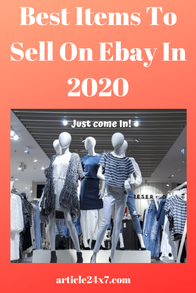 Best Items To Sell On Ebay In 2020