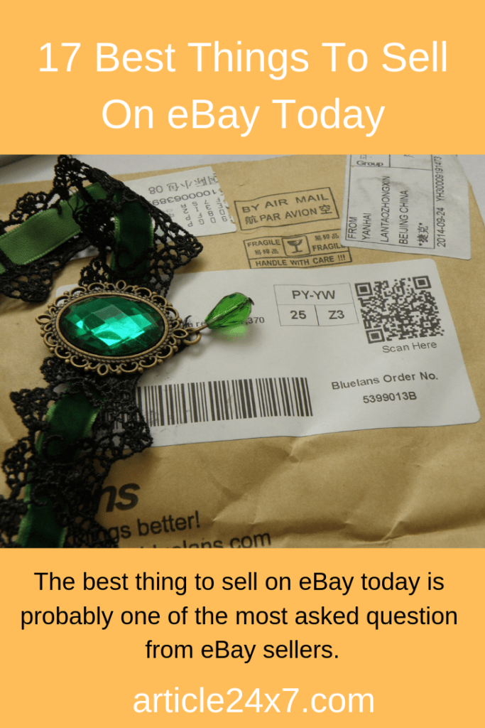 The best thing to sell on ebay