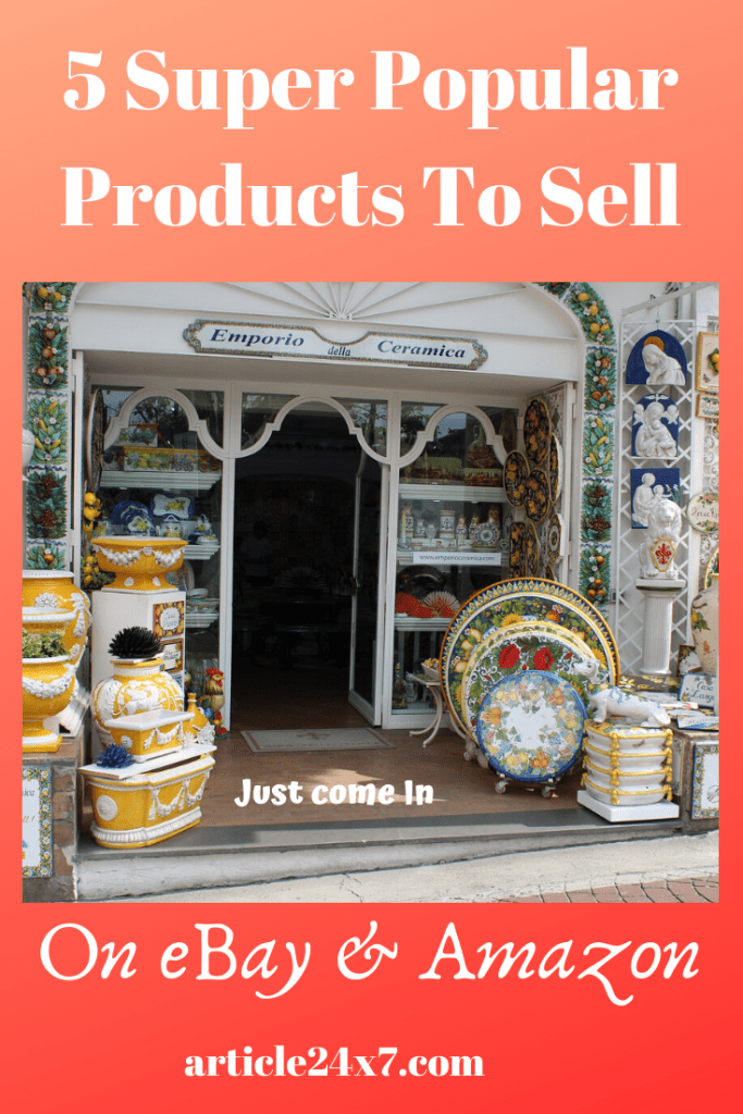 Popular Products to Sell