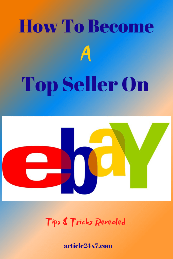 How To Become A Top Seller