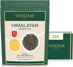 Green Tea Leaves from Himalayas